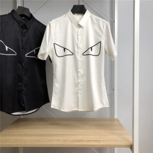 Fendi Shirts Short Sleeved Polo For Men #766086