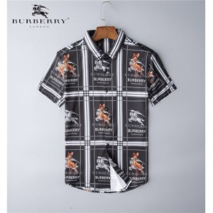 Burberry Shirts Short Sleeved Polo For Men #767832