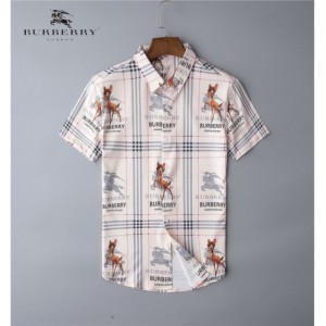 Burberry Shirts Short Sleeved Polo For Men #767833