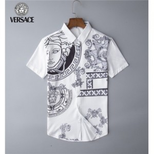 Versace Shirts Short Sleeved Polo For Men #767837