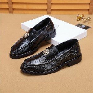 Versace Leather Shoes For Men #768788