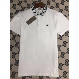 Christian Dior T-Shirts Short Sleeved Polo For Men #770040