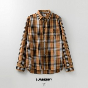 Burberry Shirts Long Sleeved Polo For Women #772384