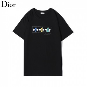 Christian Dior Shirts Short Sleeved O-Neck For Men #772443