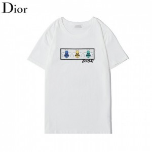 Christian Dior Shirts Short Sleeved O-Neck For Men #772444