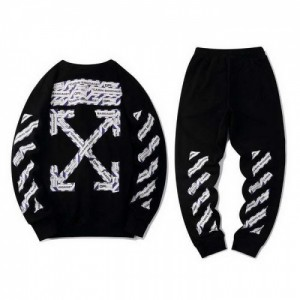 Off-White Tracksuits Long Sleeved O-Neck For Men #772671