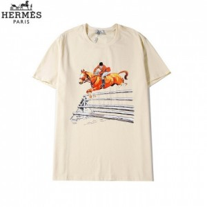 Hermes T-Shirts Short Sleeved O-Neck For Men #773171