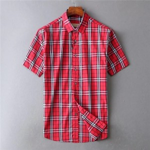Burberry Shirts Short Sleeved Polo For Men #773414