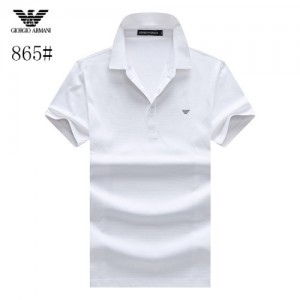 Armani T-Shirts Short Sleeved Polo For Men #773564