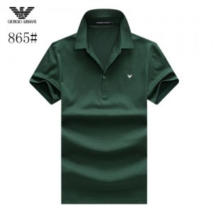 Armani T-Shirts Short Sleeved Polo For Men #773565