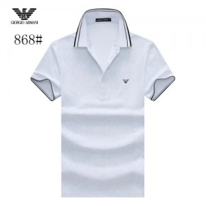 Armani T-Shirts Short Sleeved Polo For Men #773566