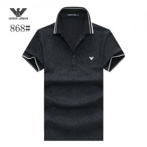 Armani T-Shirts Short Sleeved Polo For Men #773568