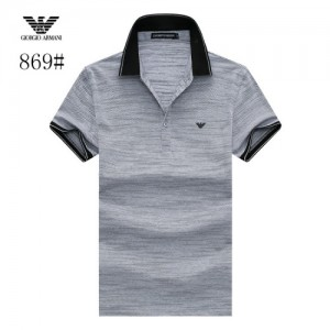 Armani T-Shirts Short Sleeved Polo For Men #773572