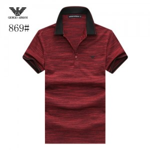 Armani T-Shirts Short Sleeved Polo For Men #773573