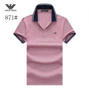 Armani T-Shirts Short Sleeved Polo For Men #773575