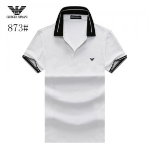 Armani T-Shirts Short Sleeved Polo For Men #773578