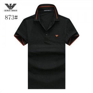 Armani T-Shirts Short Sleeved Polo For Men #773579