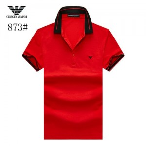 Armani T-Shirts Short Sleeved Polo For Men #773580